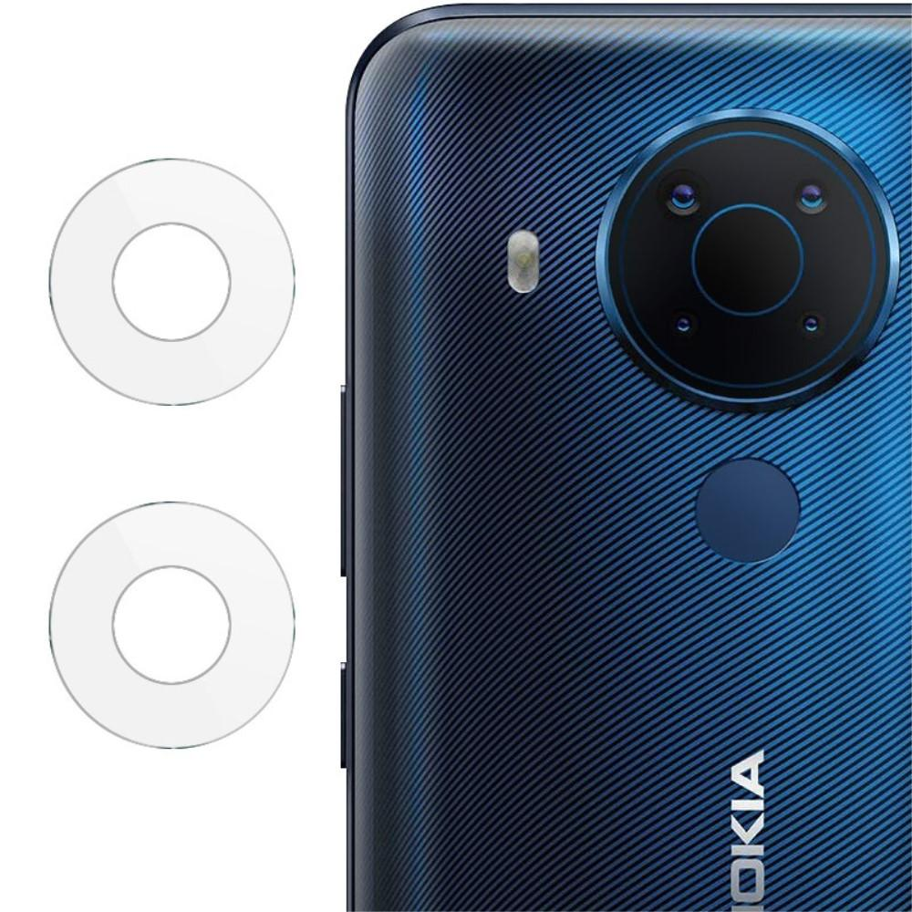 2-pack Härdat Glas Linsskydd Nokia 5.4
