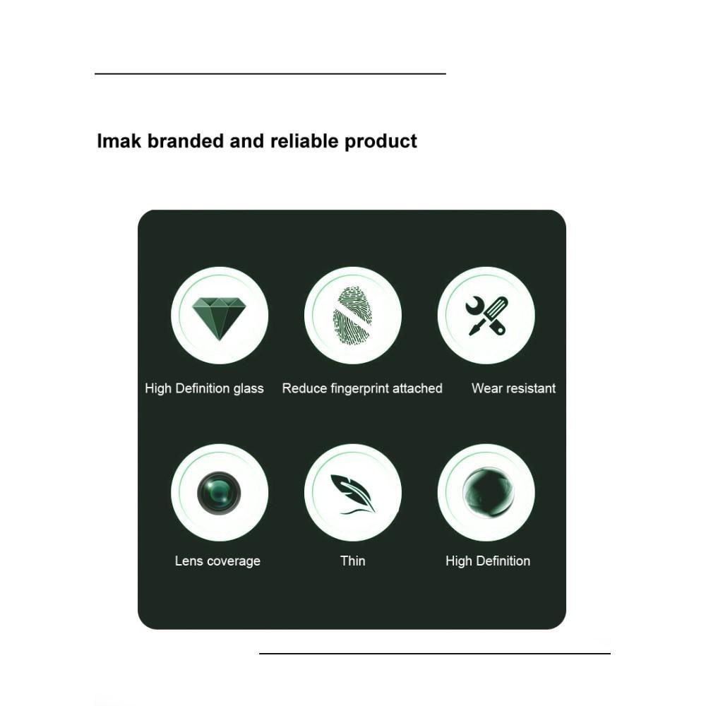 2-pack Härdat Glas Linsskydd Redmi Note 10