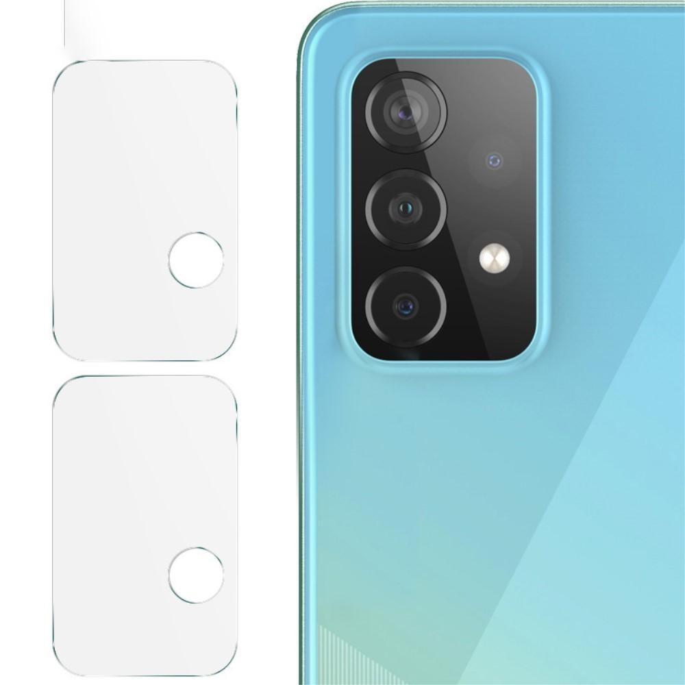 2-pack Härdat Glas Linsskydd Samsung Galaxy A52 5G/A72 5G