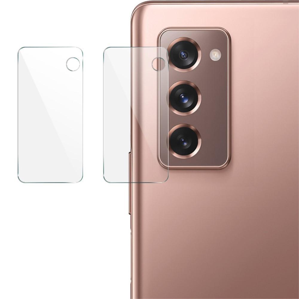 2-pack Härdat Glas Linsskydd Samsung Galaxy Z Fold 2