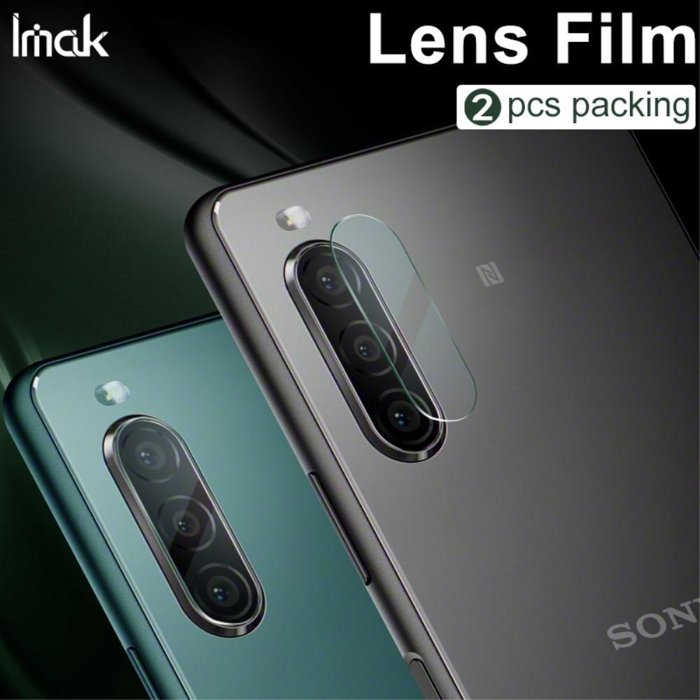 2-pack Härdat Glas Linsskydd Sony Xperia 10 II