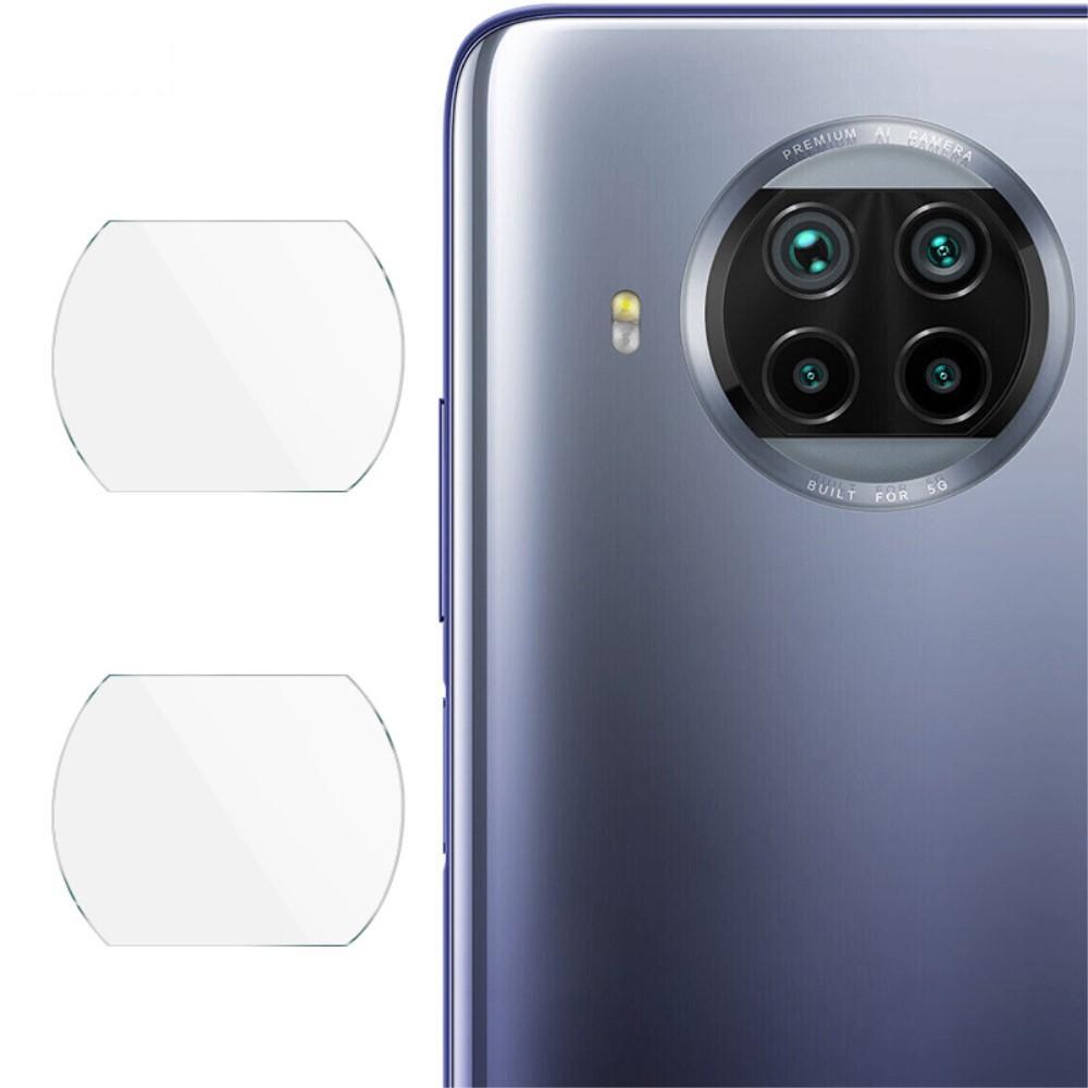 2-pack Härdat Glas Linsskydd Xiaomi Mi 10T Lite 5G