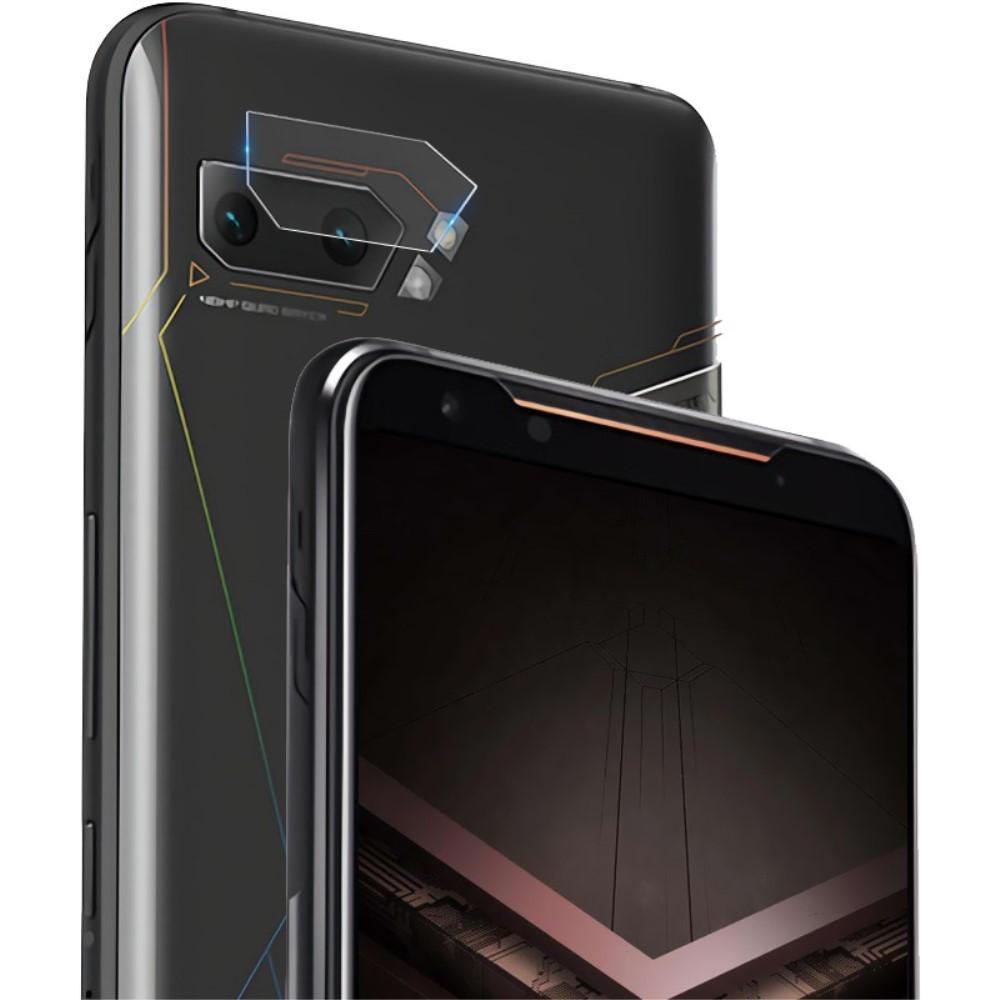 2-pack Härdat Glas Linsskydd Asus ROG Phone II