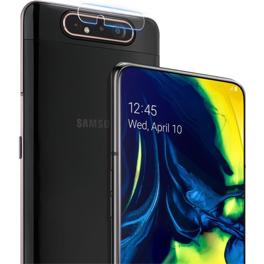 2-pack Härdat Glas Linsskydd Galaxy A80