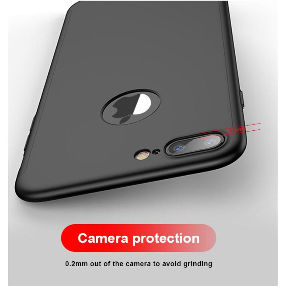 Full Protection Case for iPhone 8 Plus Black