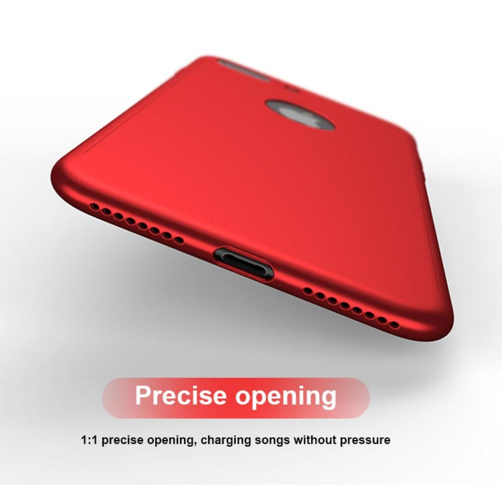 Full Protection Case for iPhone 8 Plus Red