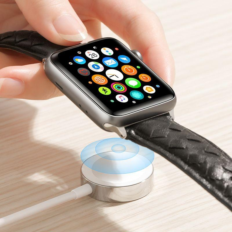 Apple Watch Laddare Vit (S-IW001S)