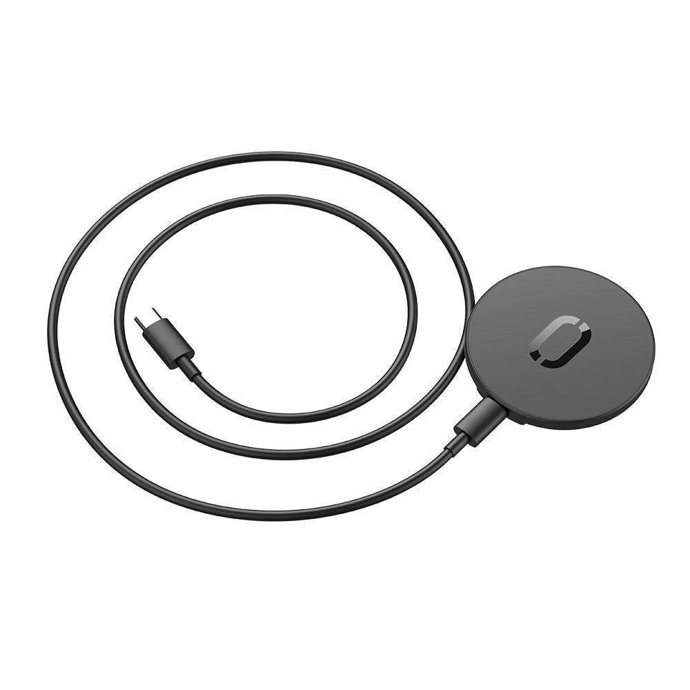 Magnetisk MagSafe Laddare 15W Svart (JR-A28)