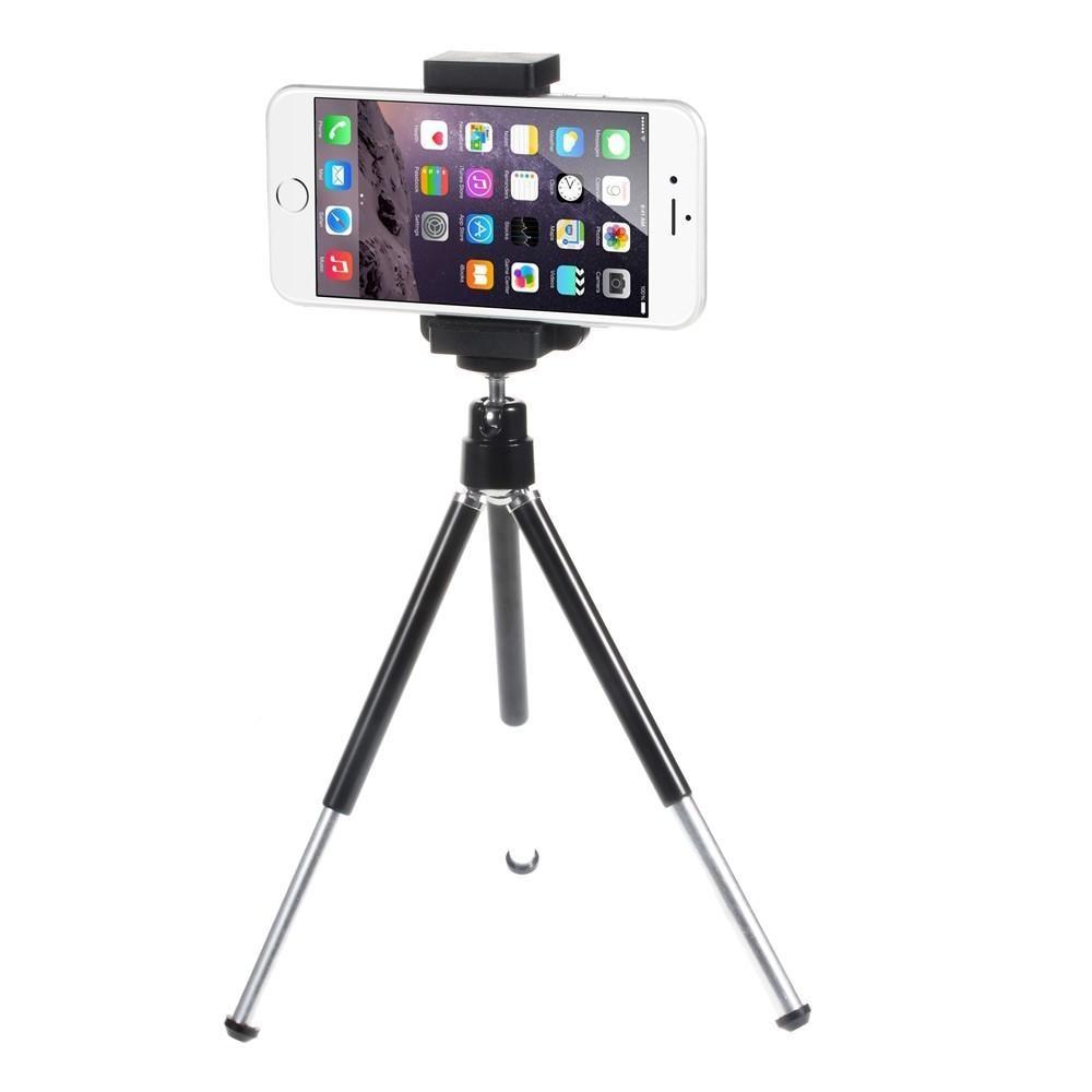 Kamerastativ Tripod för Smartphones silver