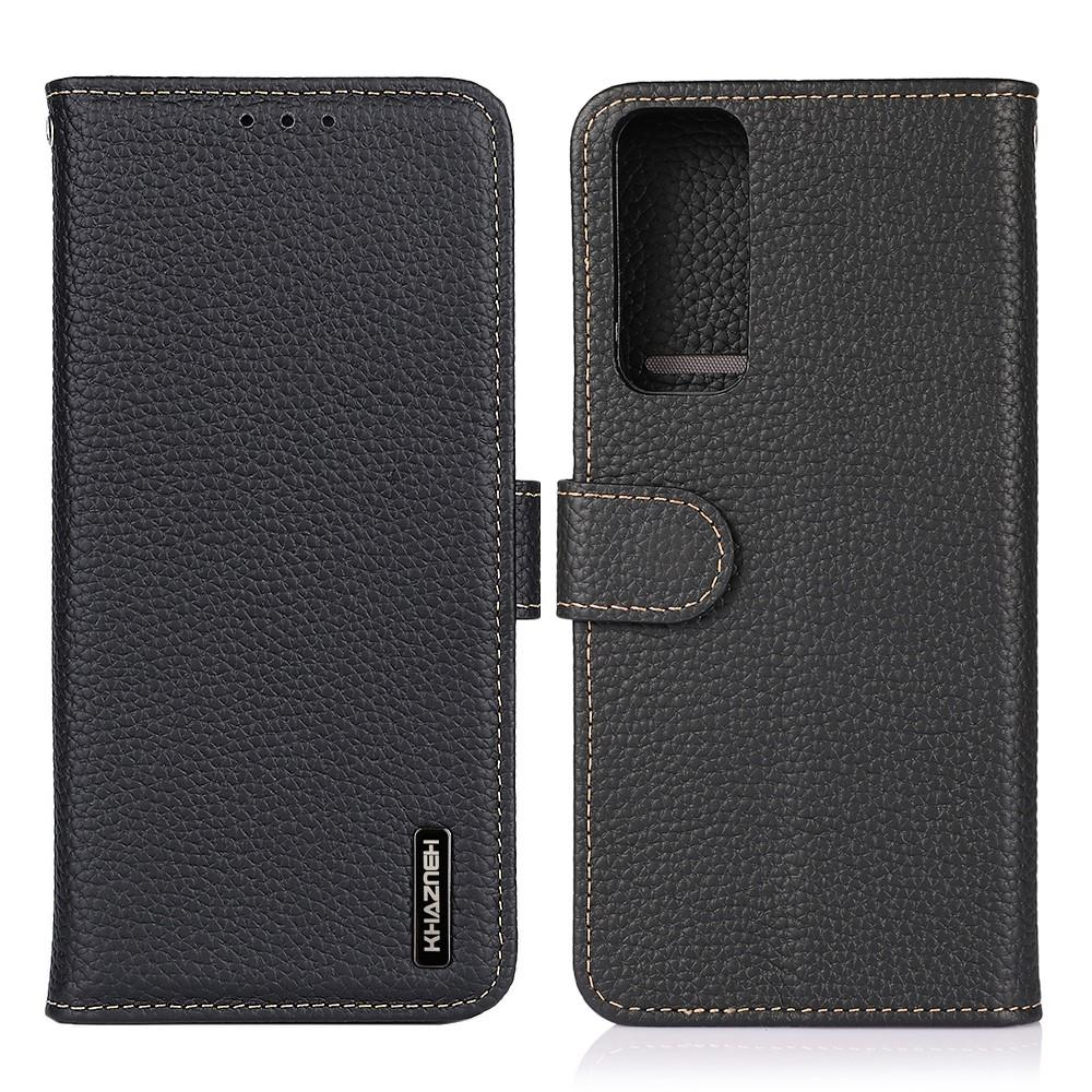 Real Leather Wallet OnePlus 9 Pro Black