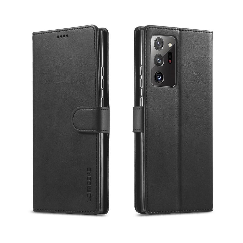 Plånboksfodral Galaxy Note 20 Ultra svart