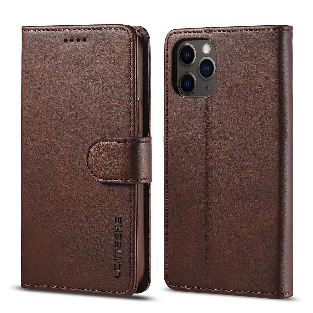Plånboksfodral iPhone 12/12 Pro brun