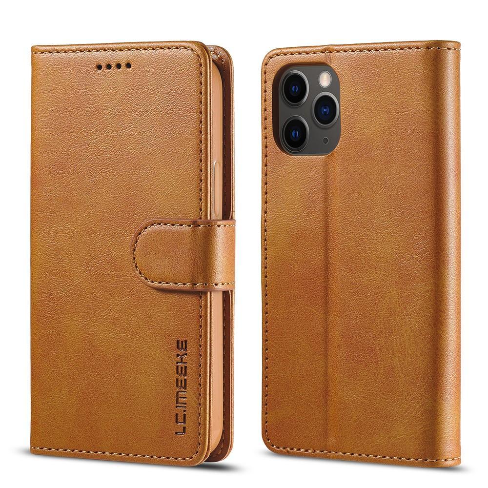 Plånboksfodral iPhone 12/12 Pro cognac
