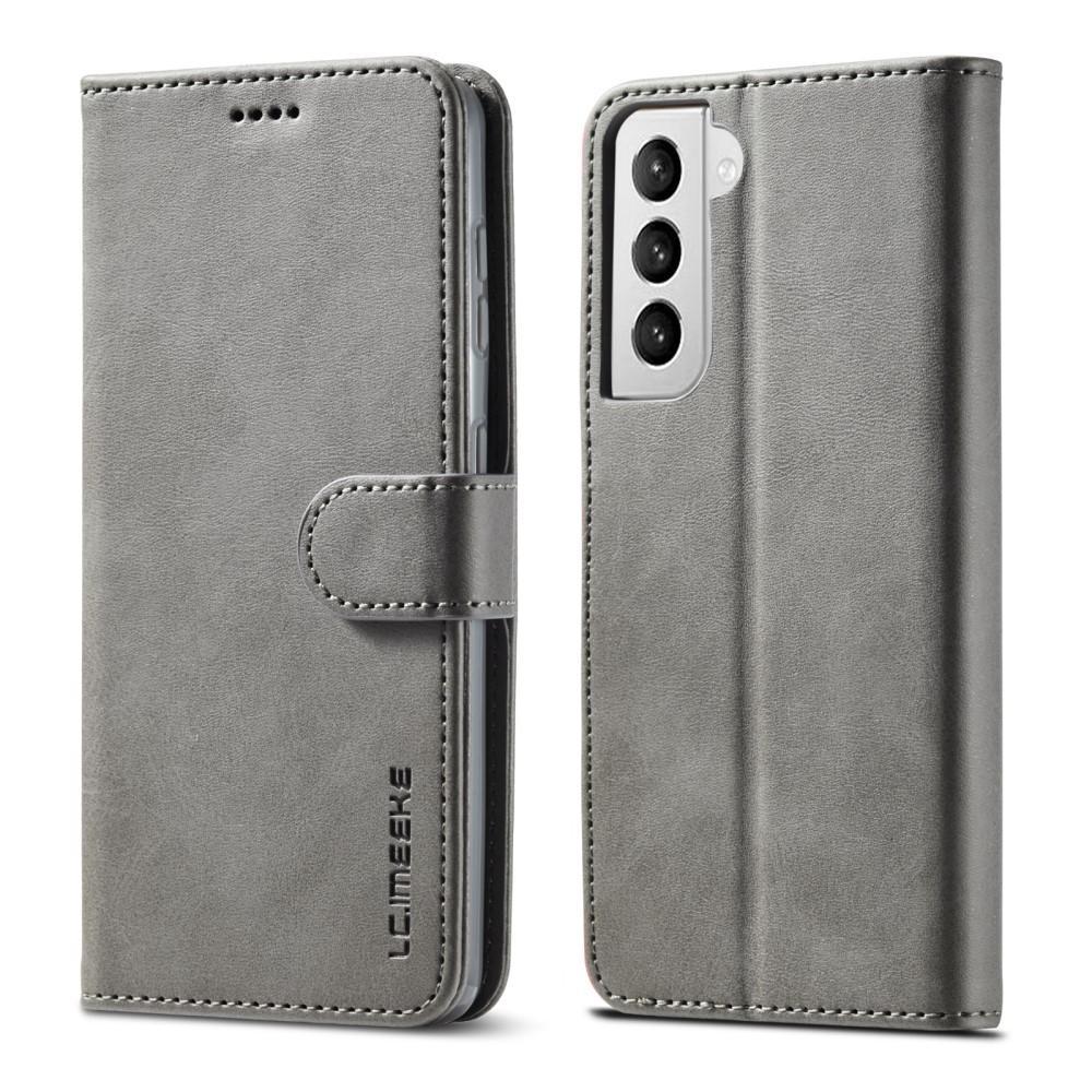 Plånboksfodral Samsung Galaxy S21 grå