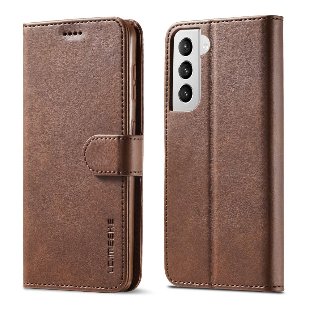 Plånboksfodral Samsung Galaxy S21 Plus brun