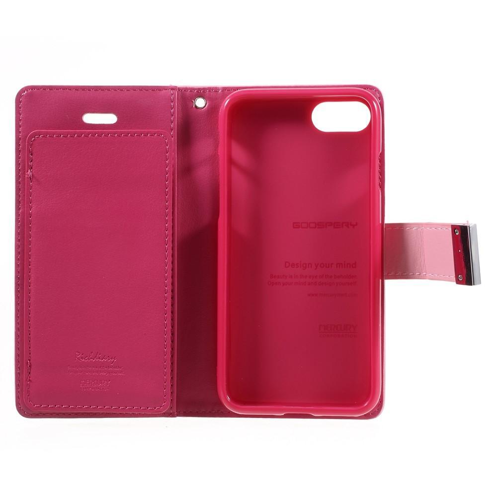 Rich Diary Case Apple iPhone 7/8/SE 2020 rosa