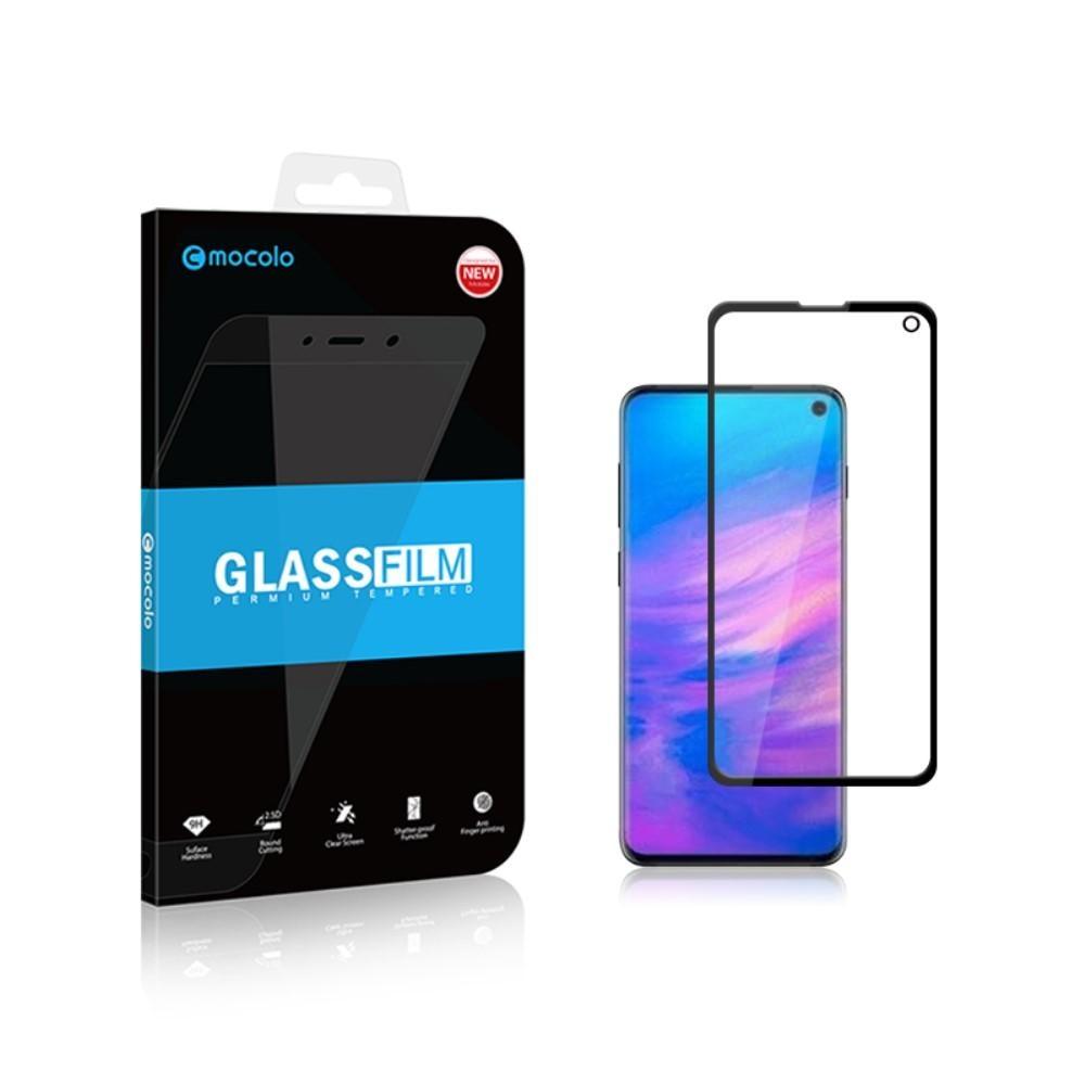Heltäckande Härdat Glas Galaxy S10e svart