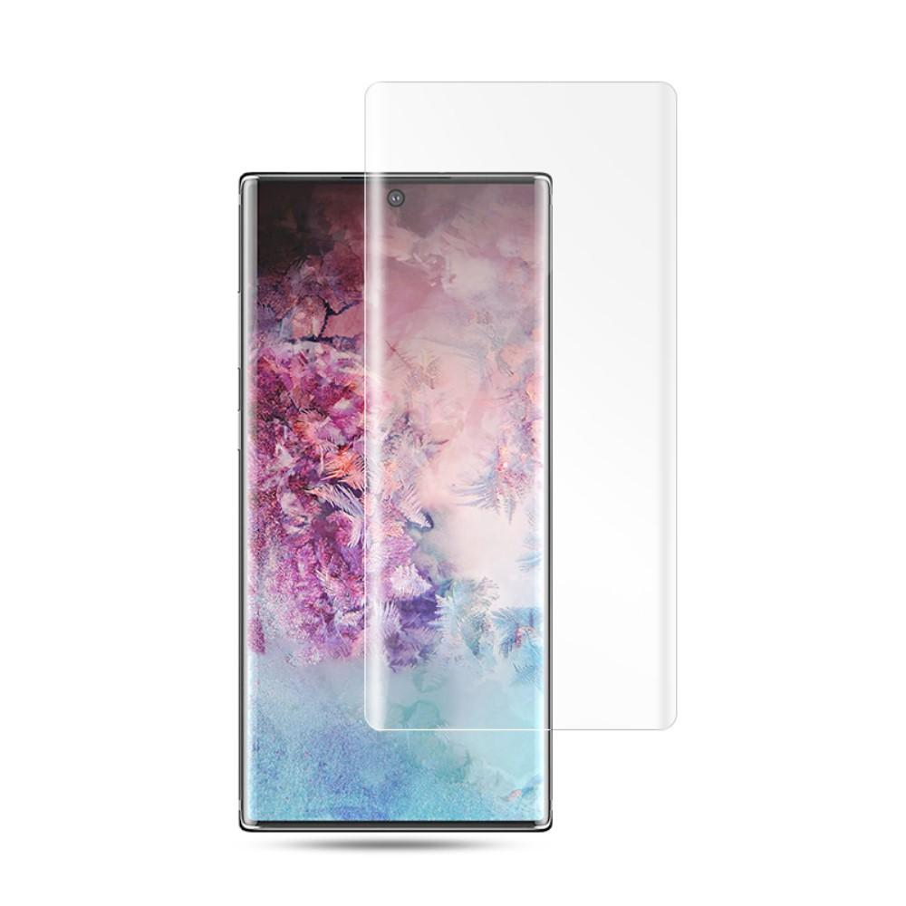 UV Tempered Glass Galaxy Note 10 Plus Clear