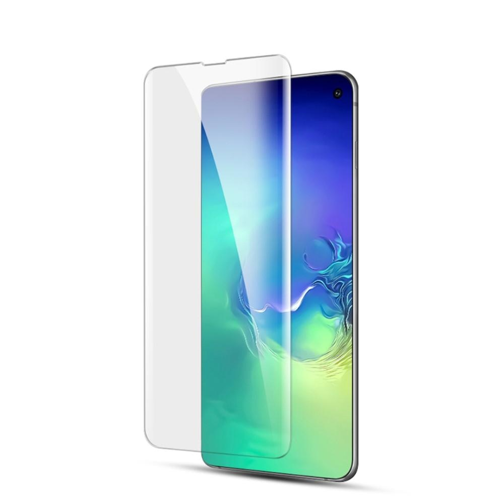 UV Tempered Glass Galaxy S10 Clear
