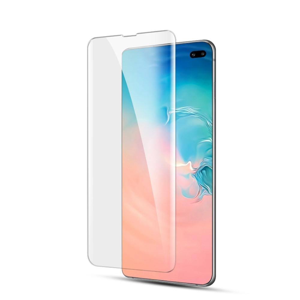 UV Tempered Glass Galaxy S10 Plus Clear