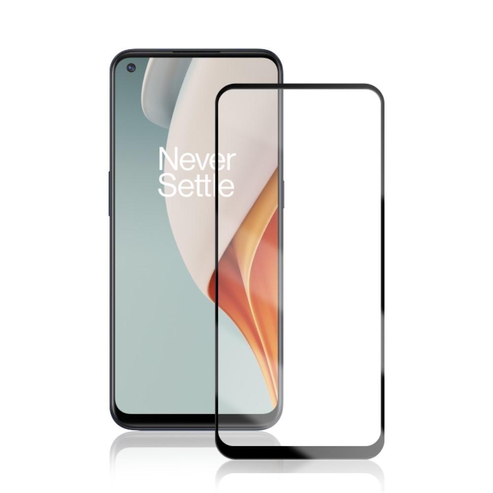 Heltäckande Härdat Glas OnePlus Nord N10 5G svart
