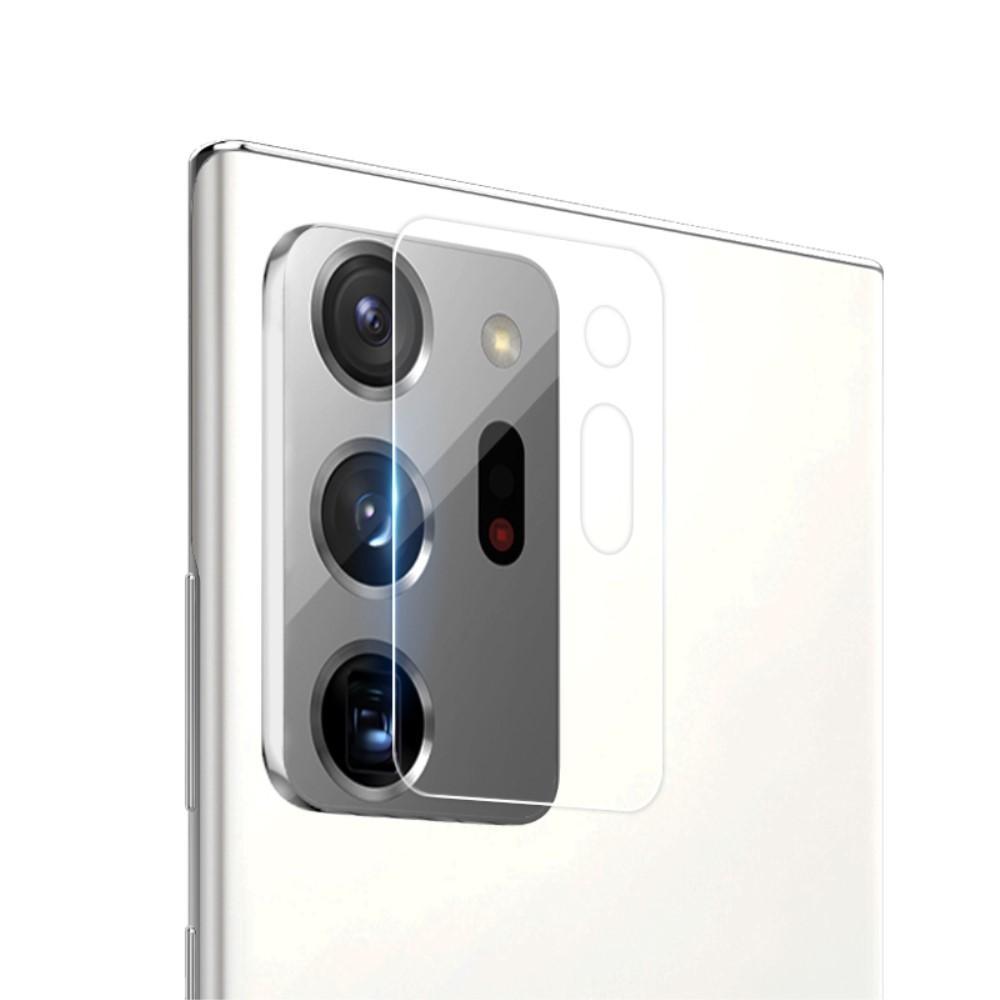 0.22mm InvisiFilm Kameraskydd Galaxy Note 20 Ultra (2-pack)