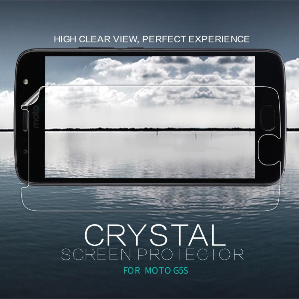 Crystal Clear Skärmskydd Moto G5S