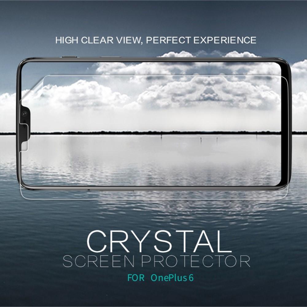 Crystal Clear Skärmskydd OnePlus 6