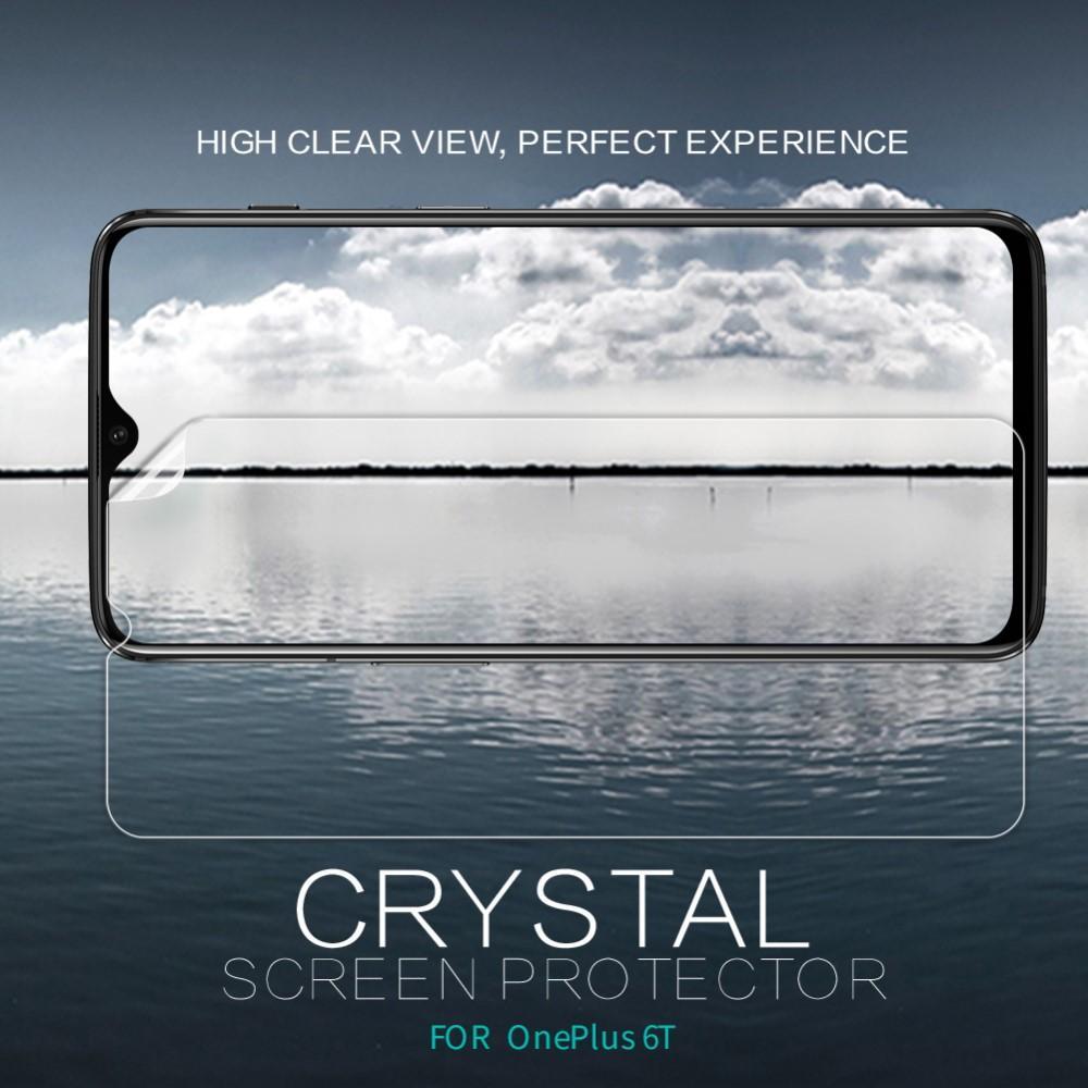 Crystal Clear Skärmskydd OnePlus 6T