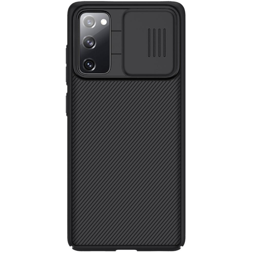 CamShield Skal Galaxy S20 FE svart
