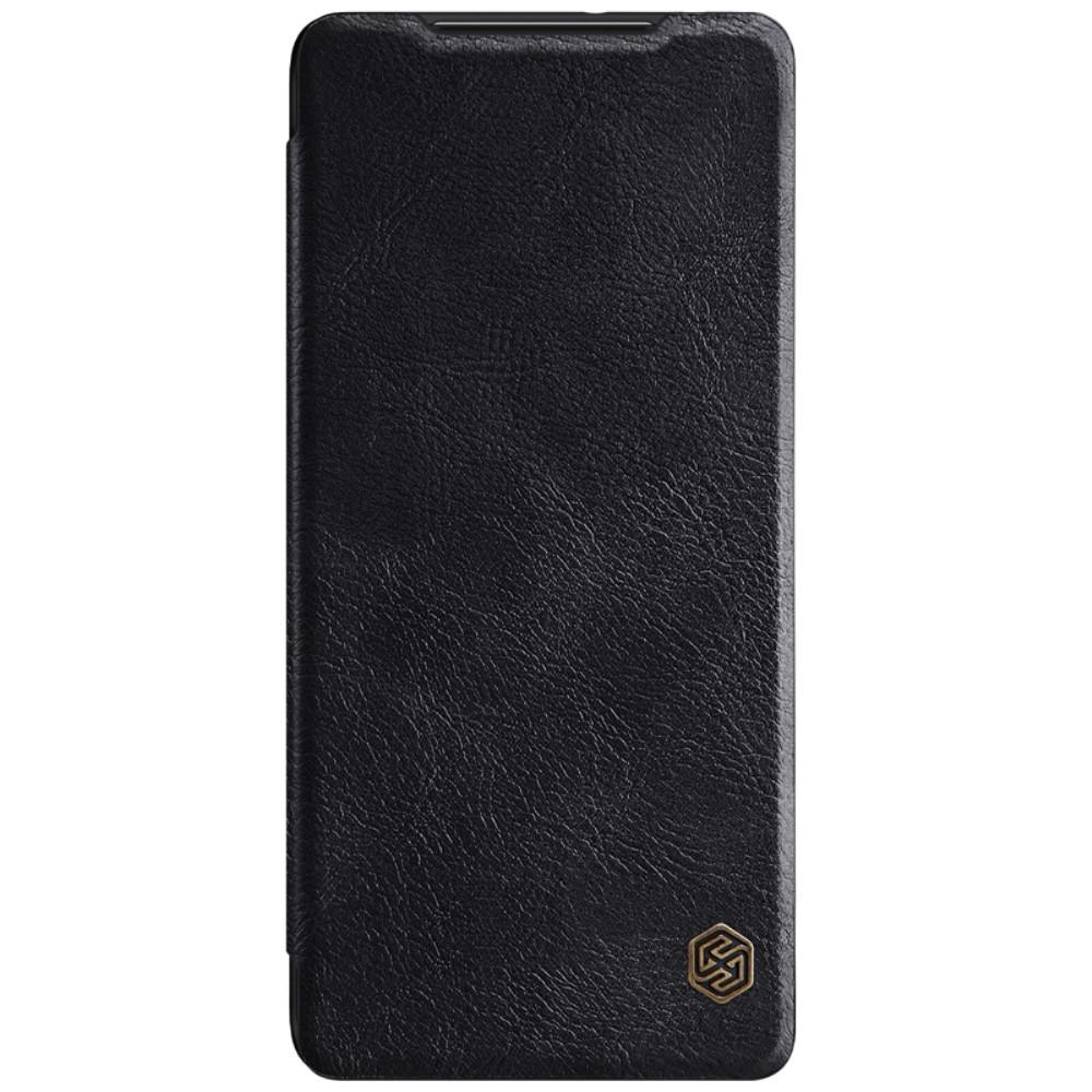 Qin Series Läderfodral Samsung Galaxy S21 Ultra svart