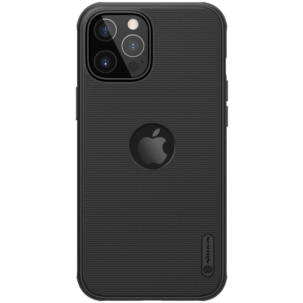 Super Frosted Shield Magnetic iPhone 12/12 Pro svart