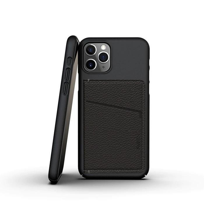 Thin Card Holder/Korthållare Black Leather