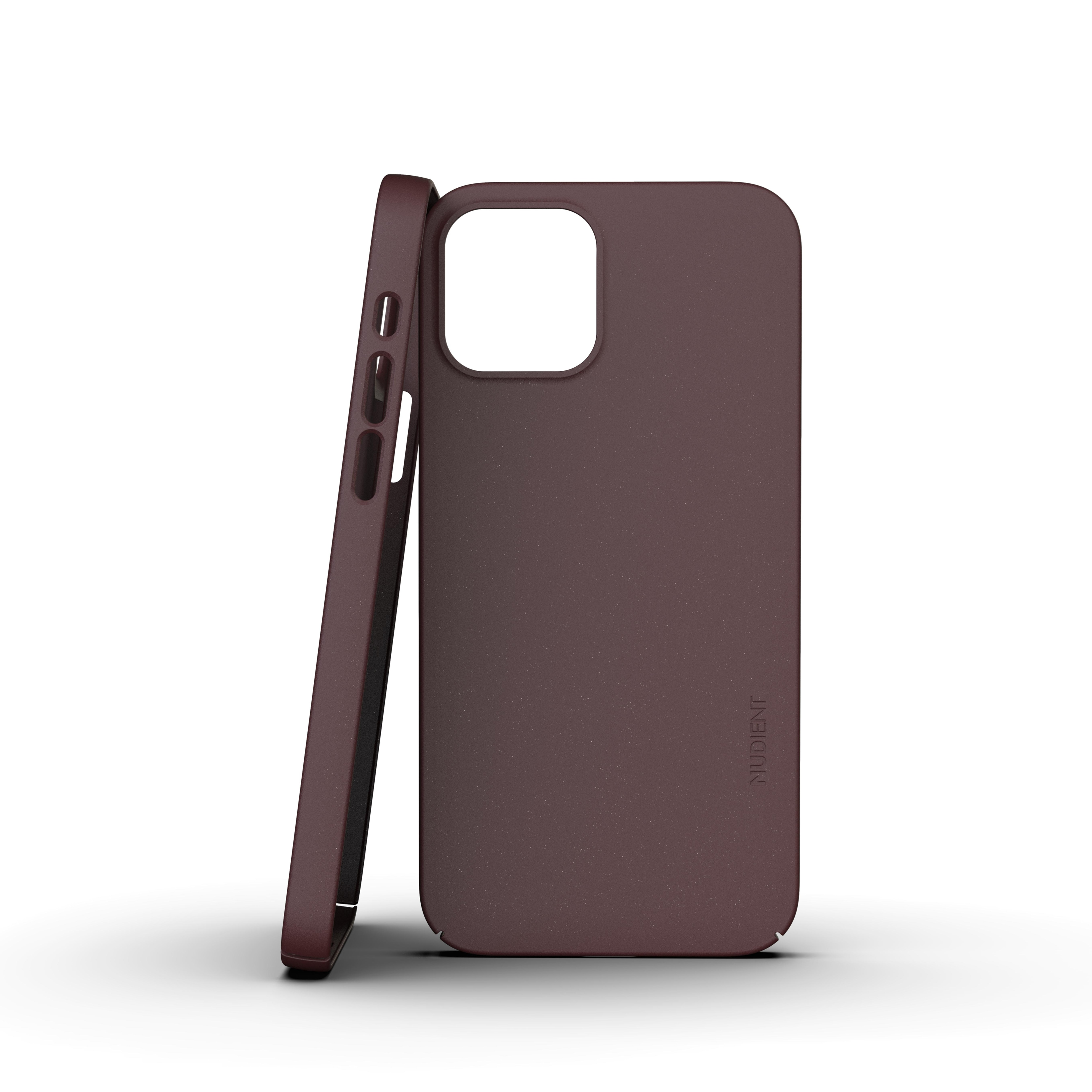 Thin Case V3 iPhone 12/12 Pro Sangria Red