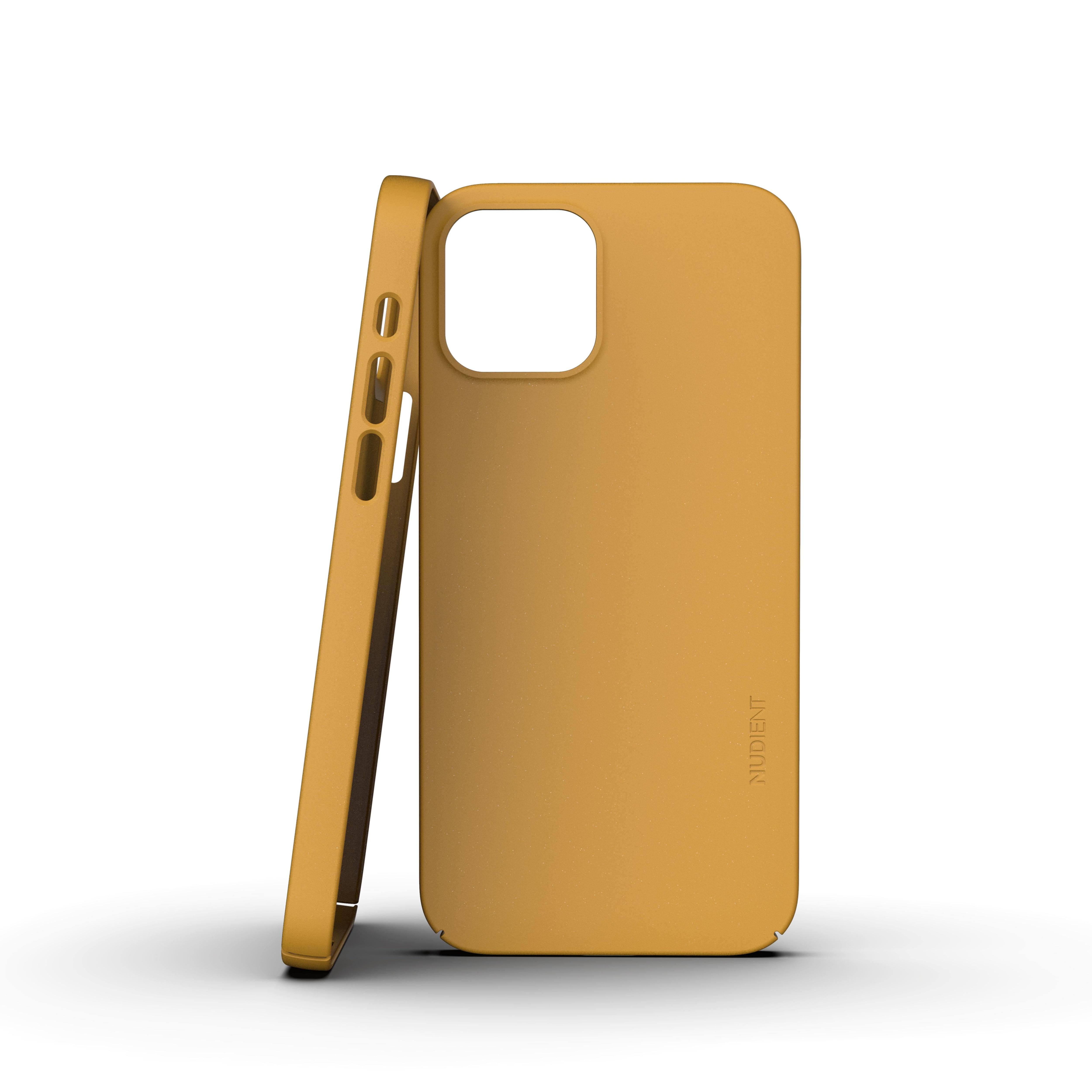Thin Case V3 iPhone 12 Mini Saffron Yellow