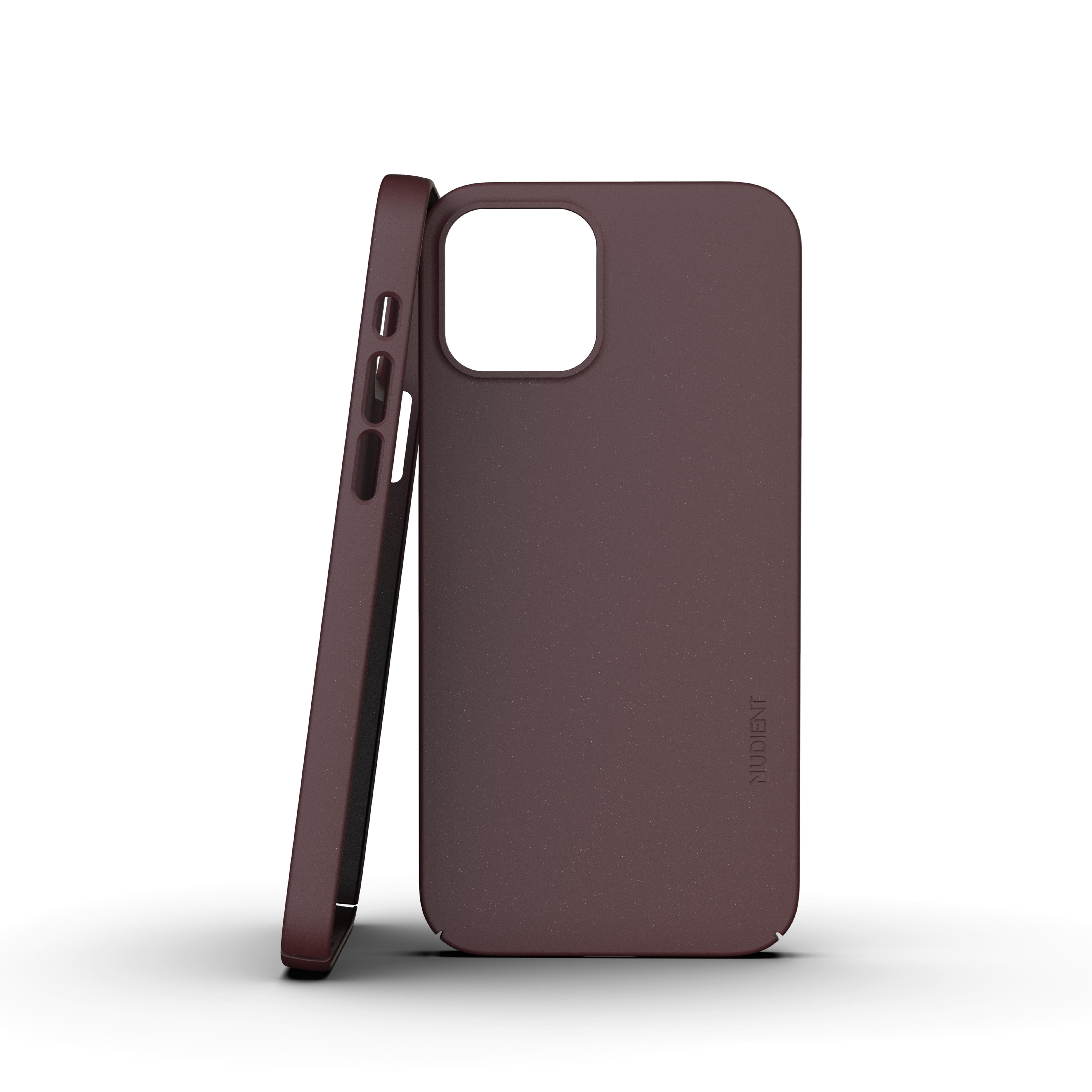 Thin Case V3 iPhone 12 Mini Sangria Red