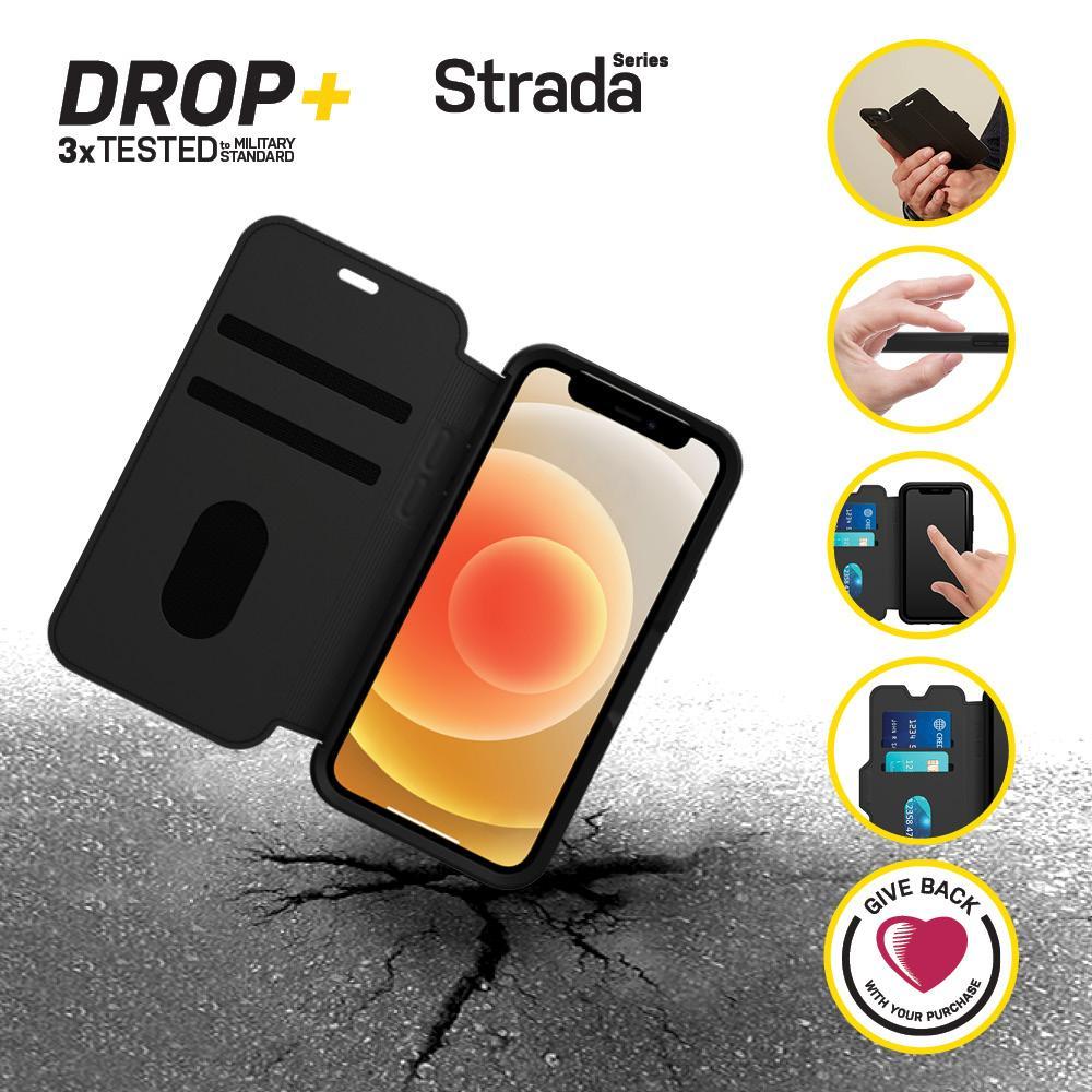 Strada Case iPhone 12 Mini Black