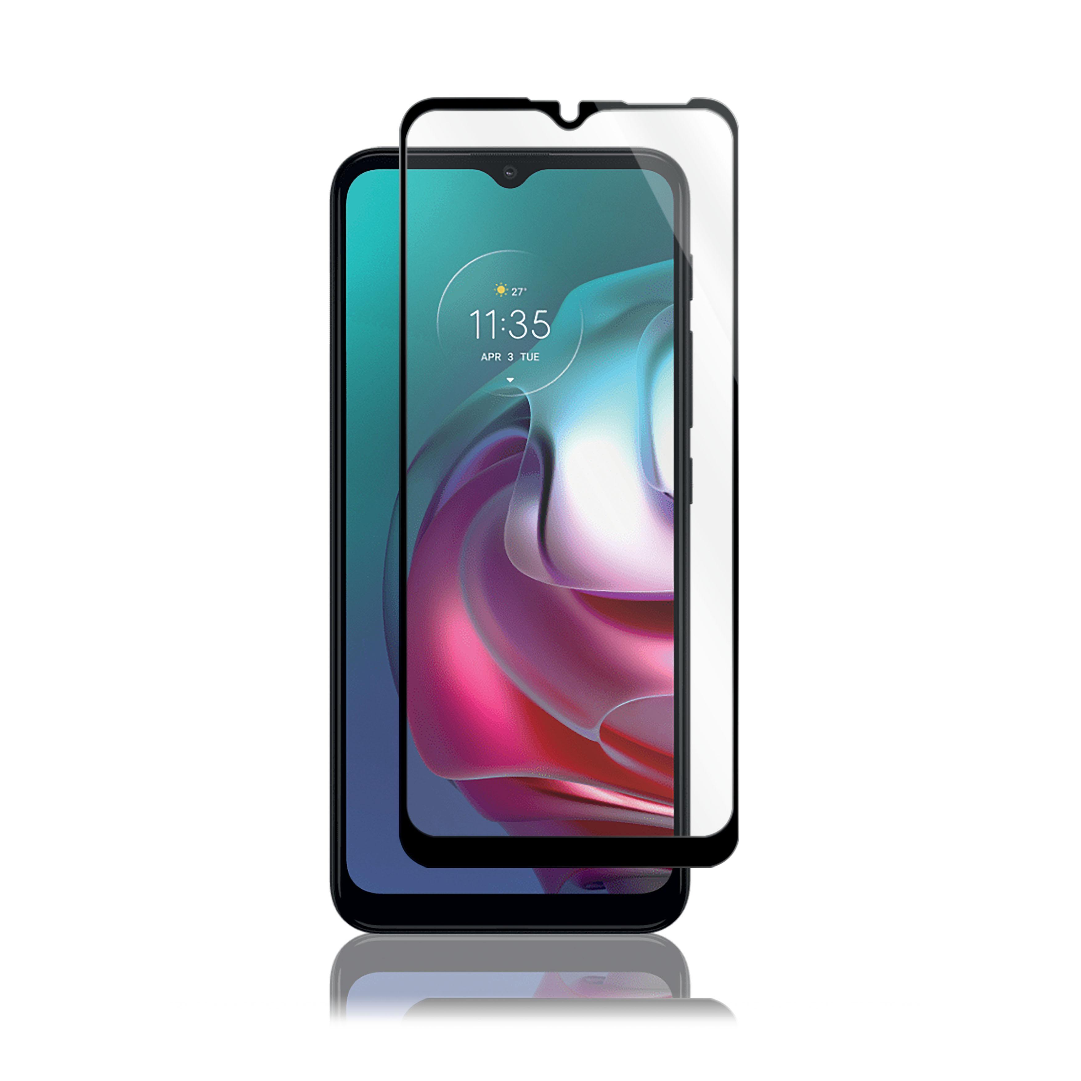Full-Fit Glass Motorola Moto G30/G50 Black