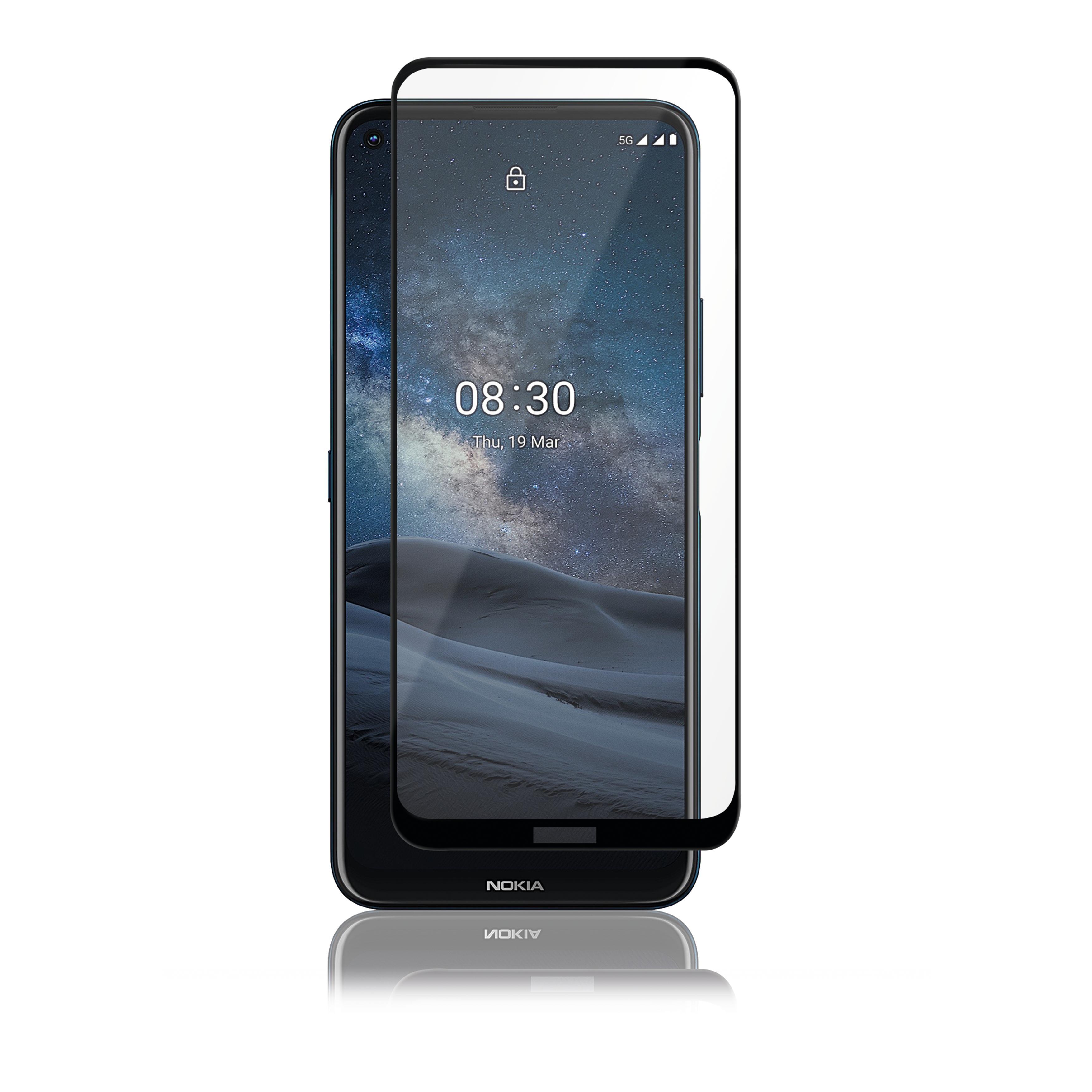 Full-Fit Glass Nokia 8.3 5G Black