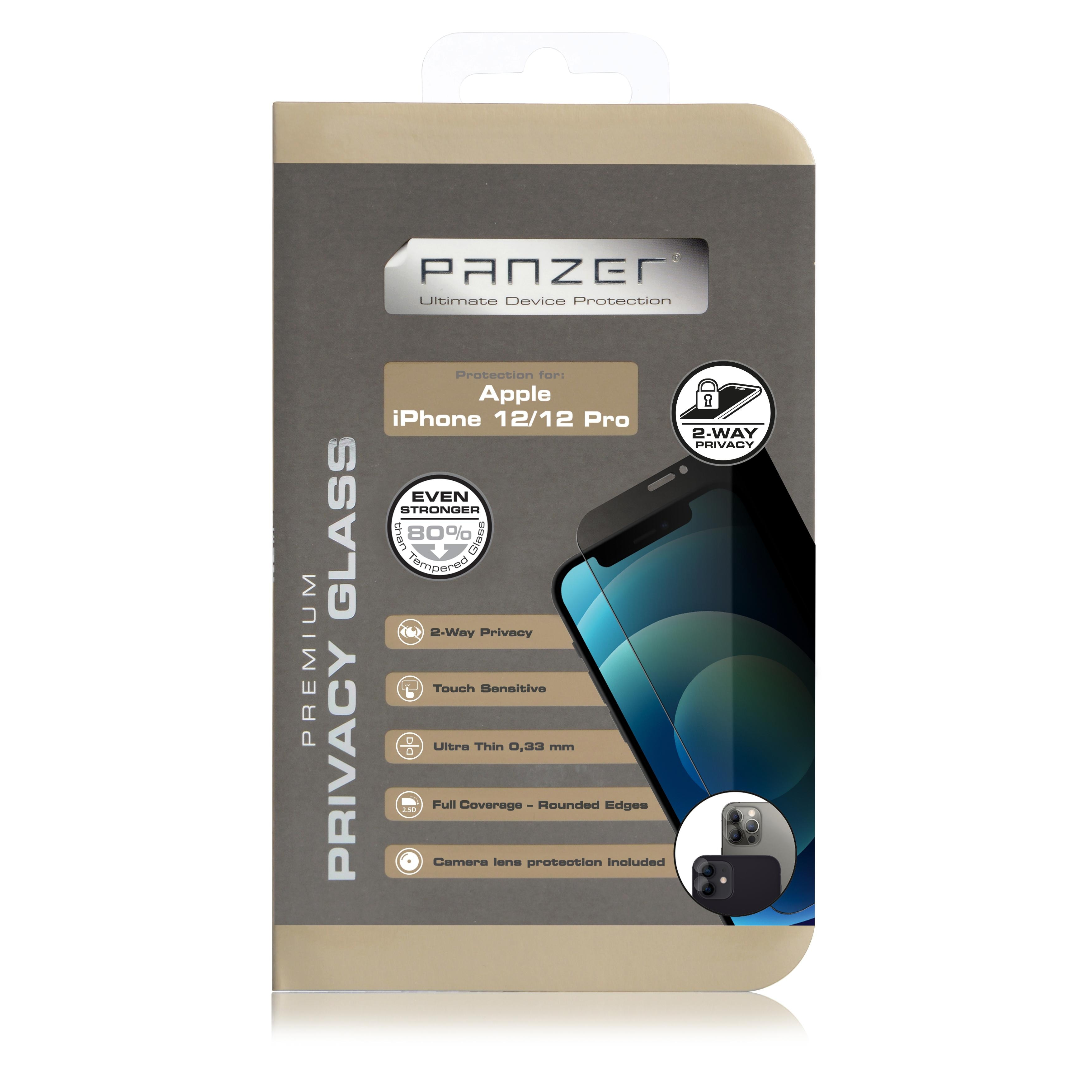 Full-Fit Privacy Glass iPhone 12/12 Pro