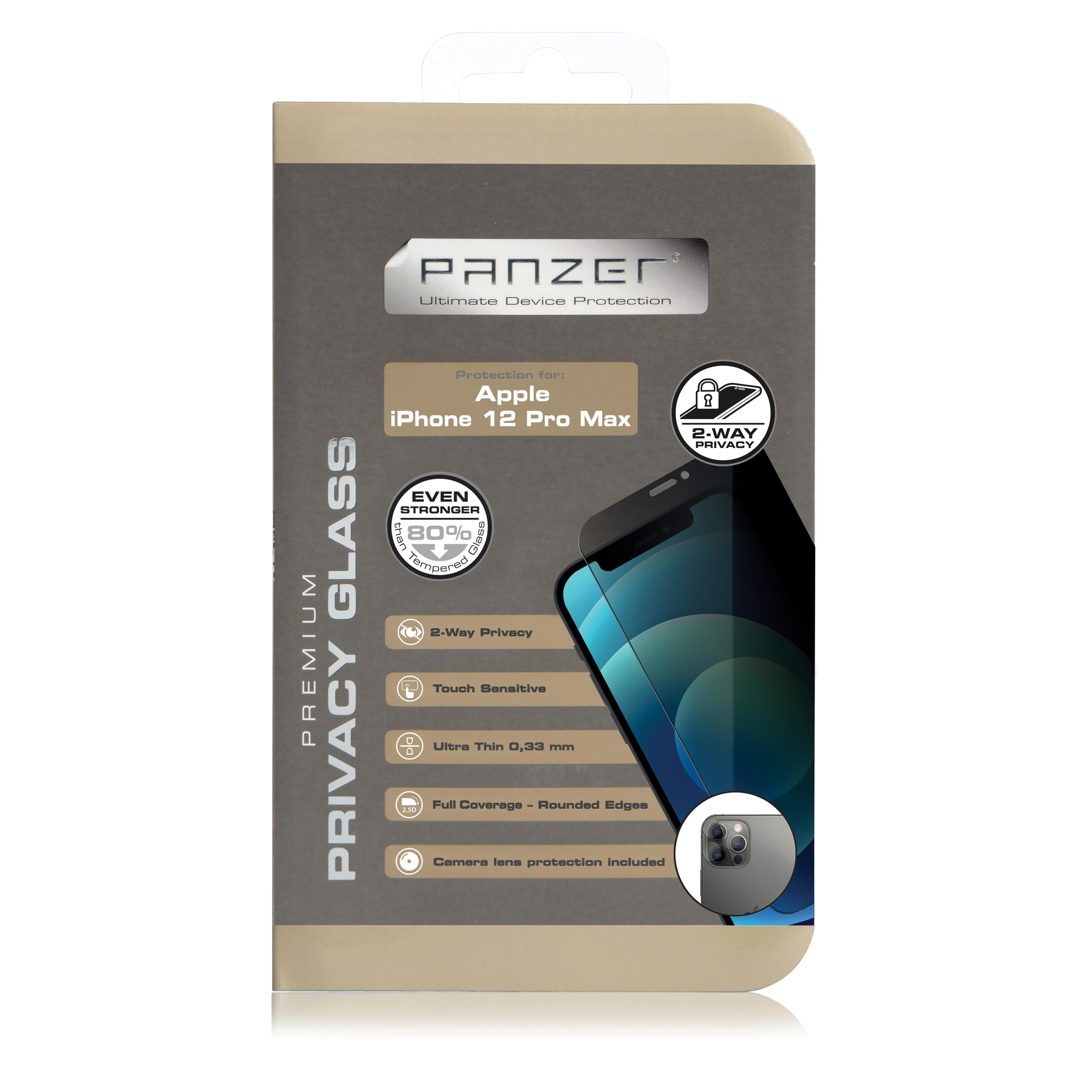 Full-Fit Privacy Glass iPhone 12 Pro Max