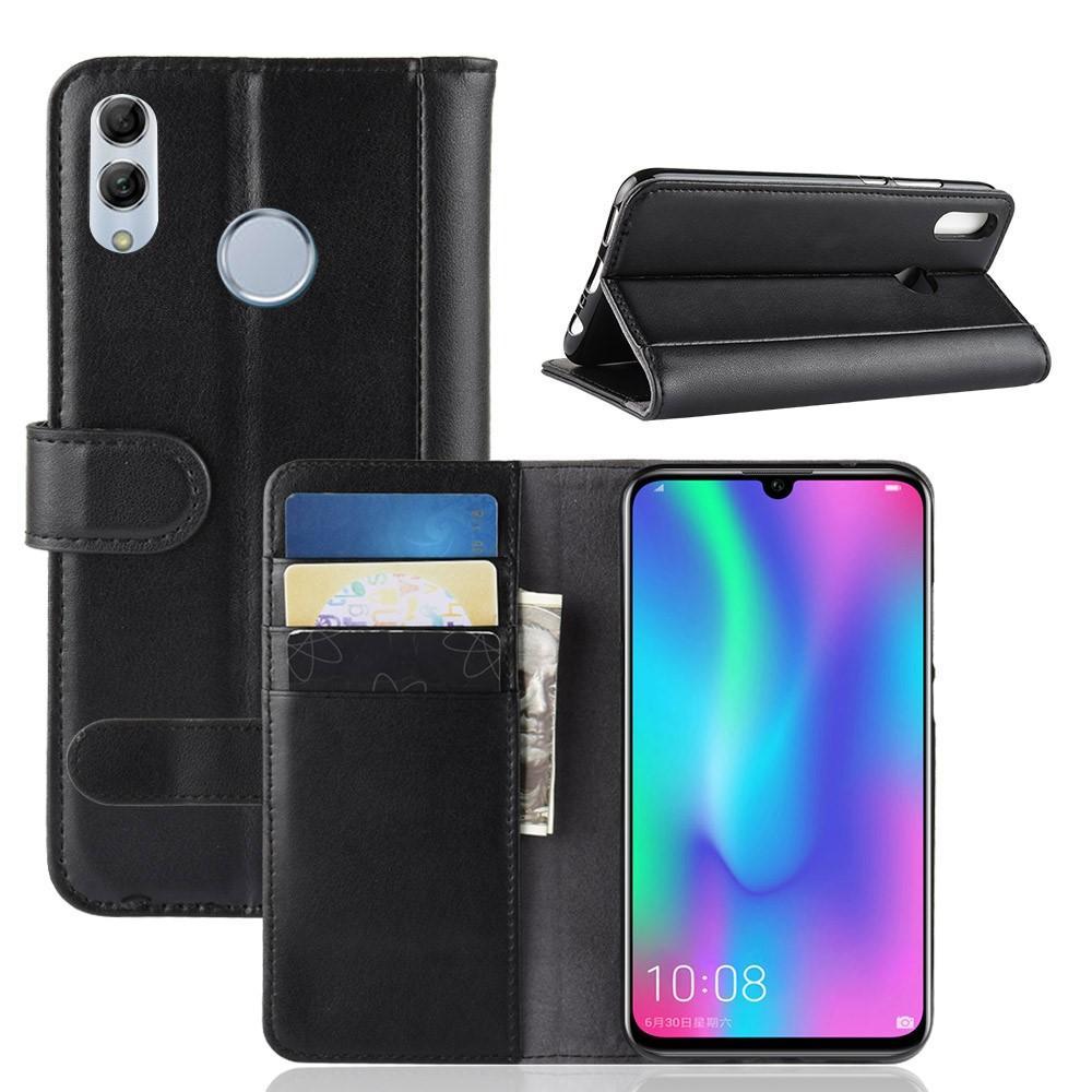 Äkta Läderfodral Huawei P Smart 2019 svart