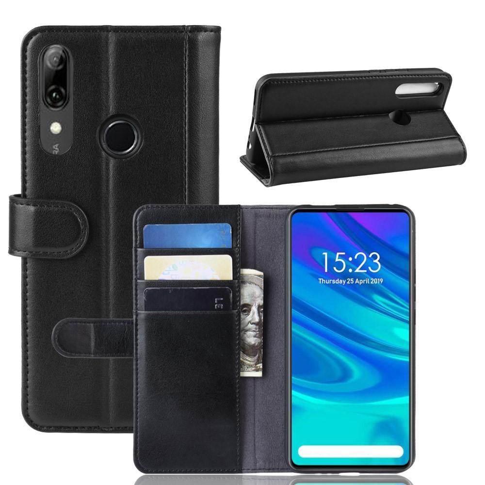 Äkta Läderfodral Huawei P Smart Z svart
