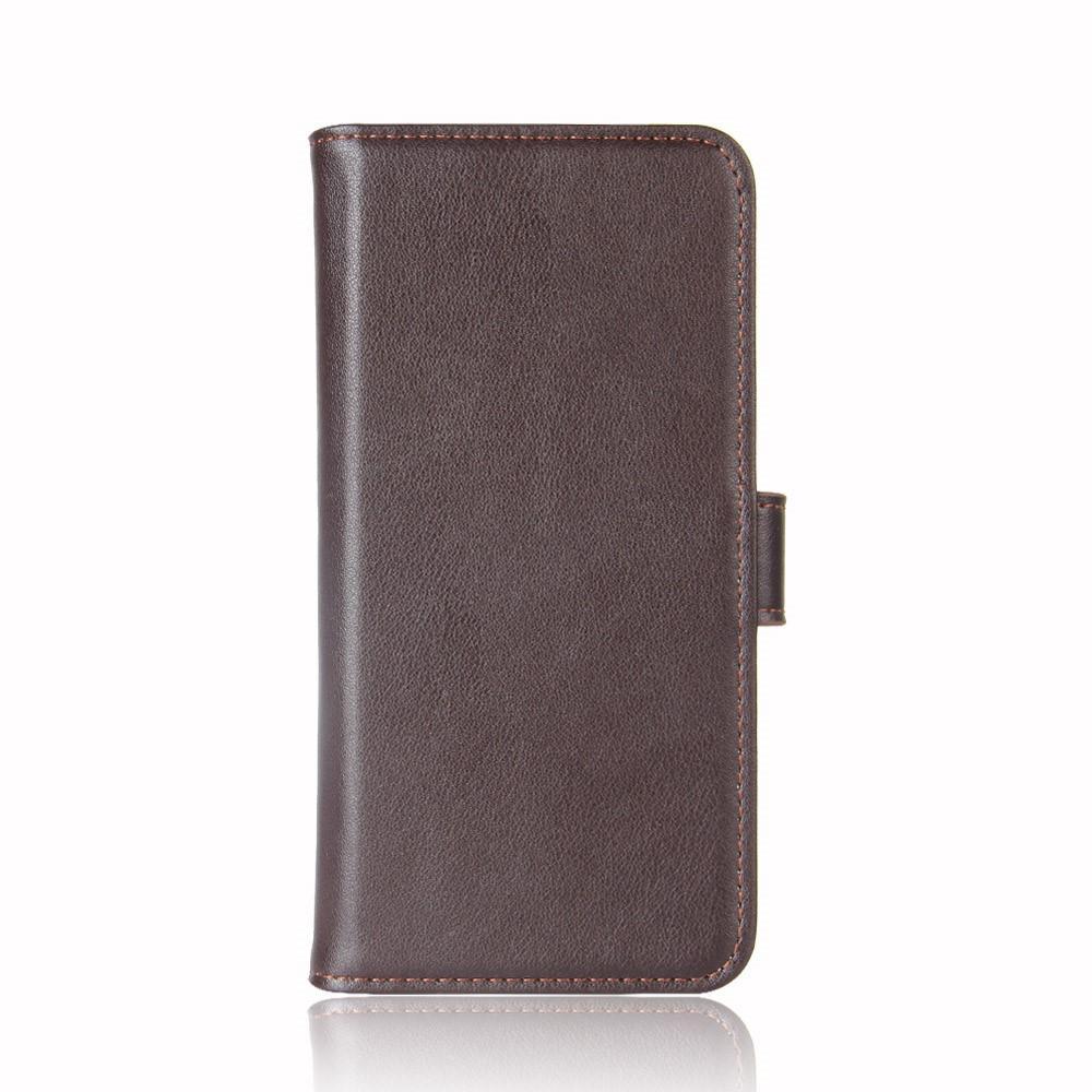 Äkta Läderfodral OnePlus 5 brun