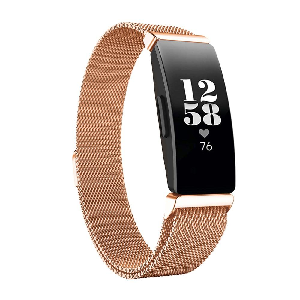 Armband Milanese Fitbit Inspire/Inspire HR/Inspire 2 roséguld
