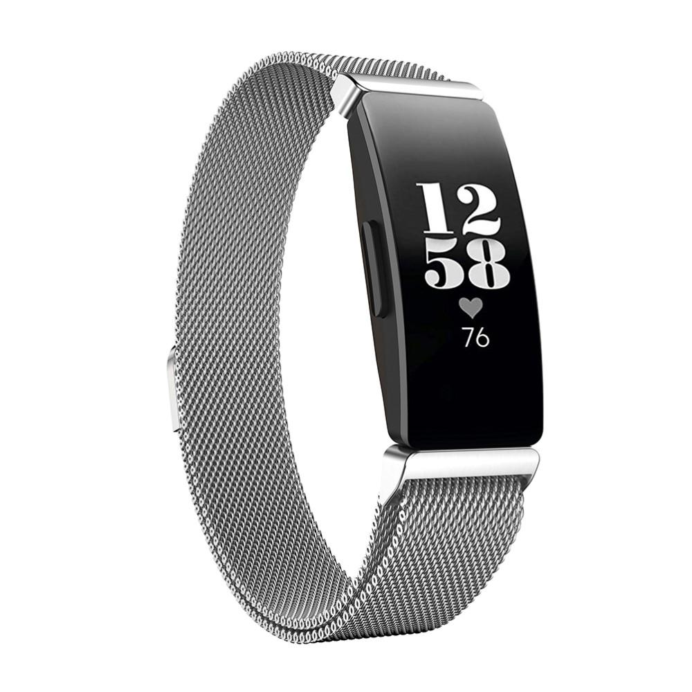 Armband Milanese Fitbit Inspire/Inspire HR/Inspire 2 silver