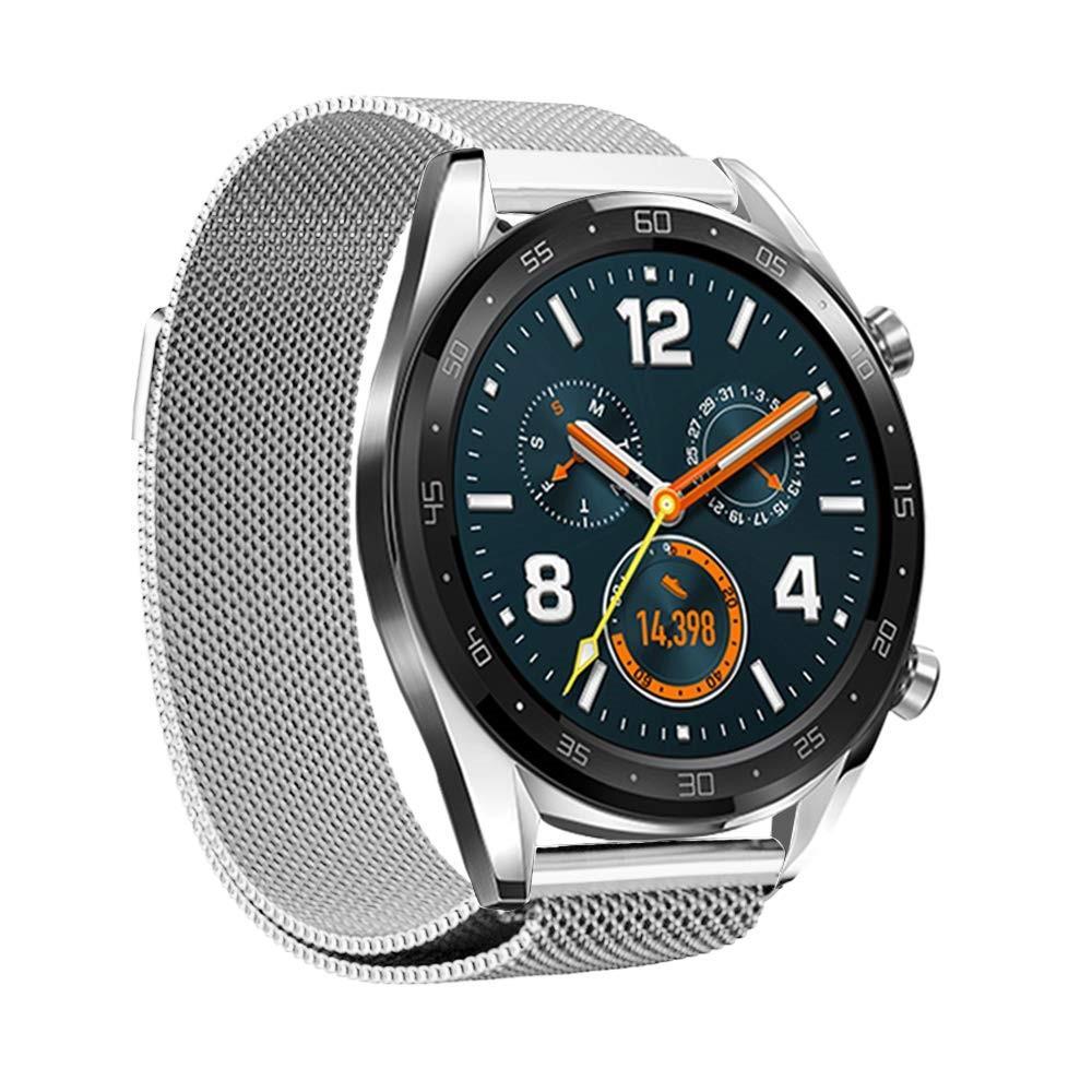 Armband Milanese Huawei Watch GT/GT 2 46mm/GT 2e silver