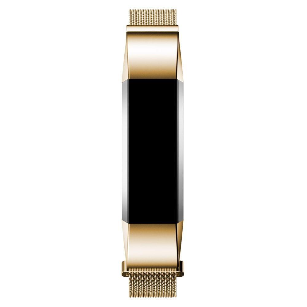 Armband Milanese Loop Fitbit Alta/Alta HR guld