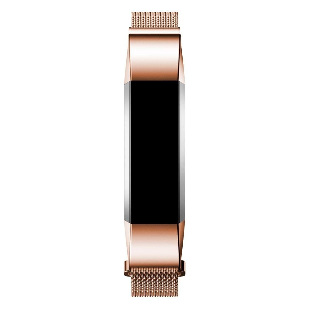 Armband Milanese Loop Fitbit Alta/Alta HR roséguld