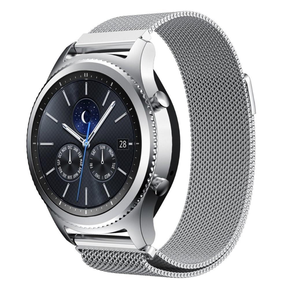 Armband Milanese Loop Gear S3 Frontier/S3 Classic silver